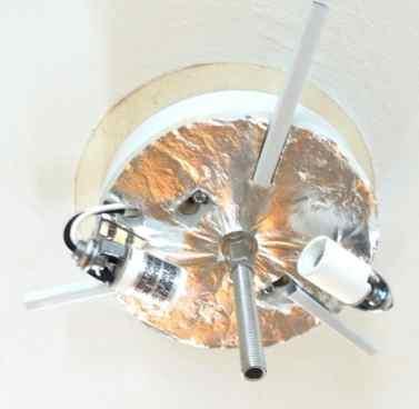 install new light1