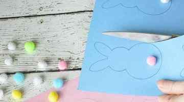 FREE Printable Easter Bunny Gift Tags + Printable Game