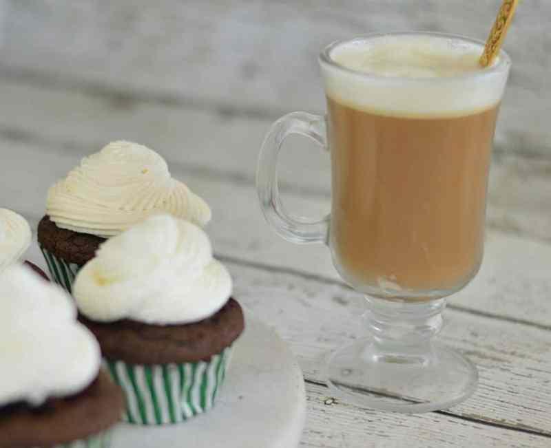 Irish Coffee Cupcakes - Wife in Progress