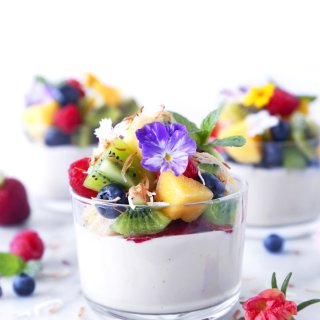 Haupia Pudding Cups