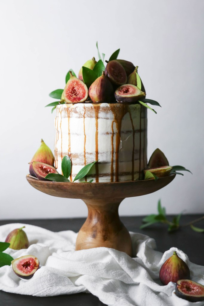 ... figs figs spiced honey cake with caramelized figs recipes dishmaps