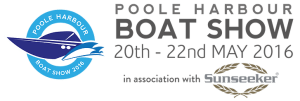 Poole Harbour Boat Show 20th - 22nd May  2016