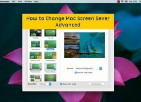 how to change screens on mac