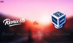 How to Install Remix OS on VirtualBox?