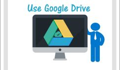 Use Google Drive and Cloud Storage