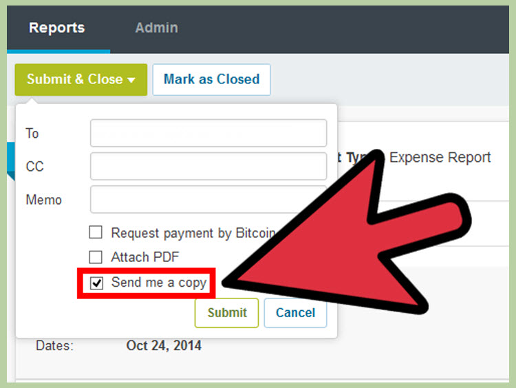 How to Submit an Expense Report with Violations on Expensify - expense reports