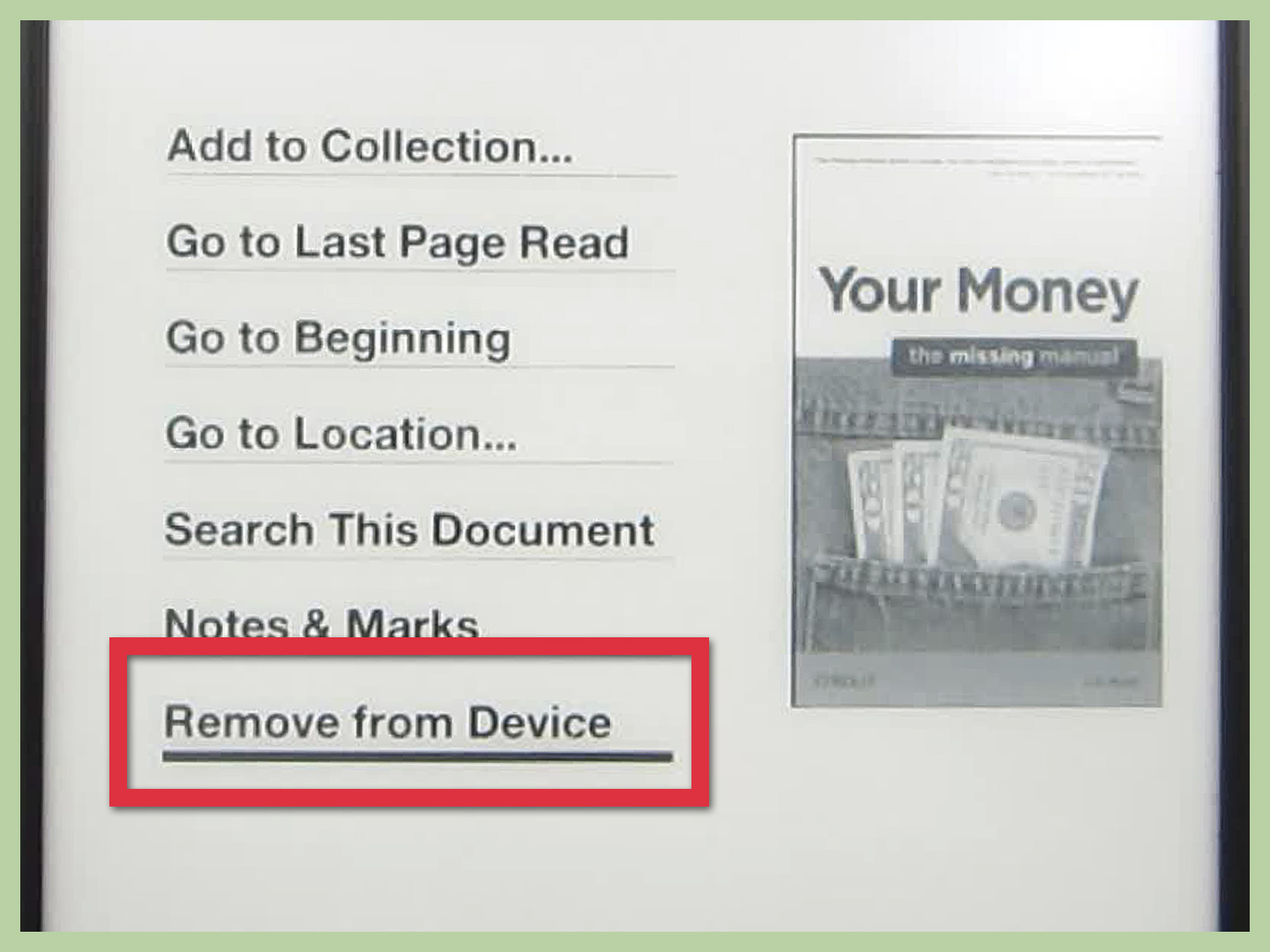 Barnes & Noble Nook Tablet Delete Books From Kindle