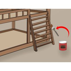 Small Crop Of Bunk Bed With Stairs