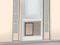 3 Ways to Install a Pet Door or Dog Door - wikiHow