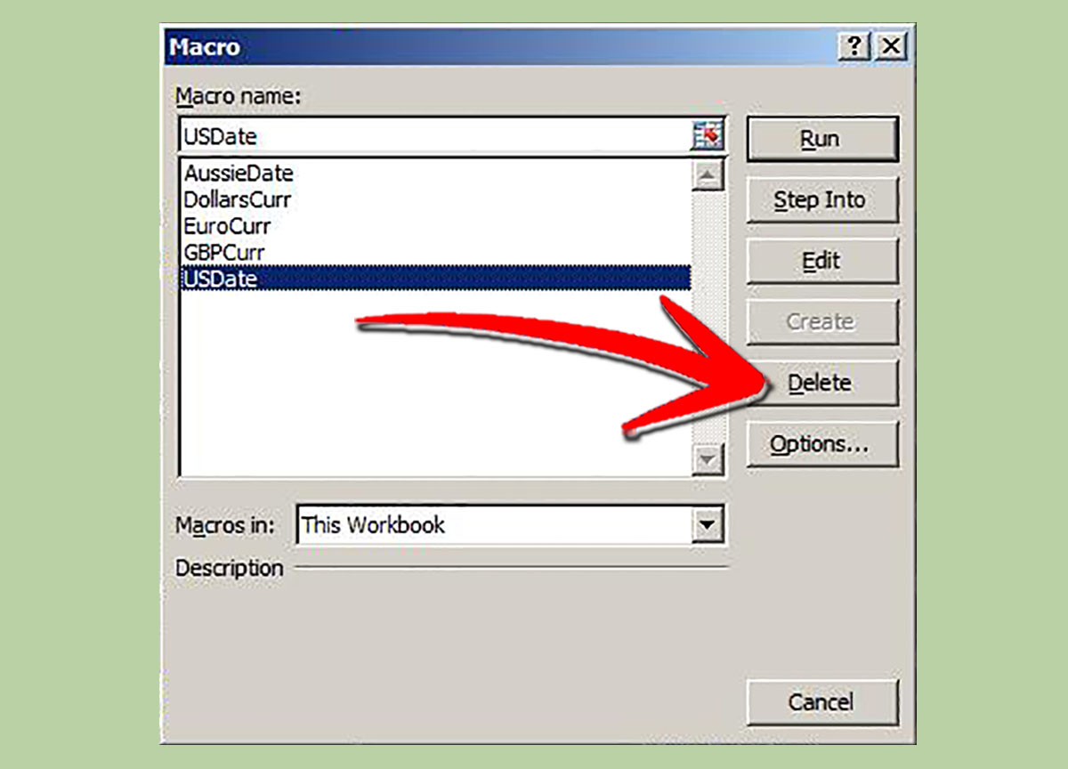 how to write a macro in excel