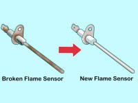 How to Clean Furnace Flame Rod Sensors: 6 Steps (with ...