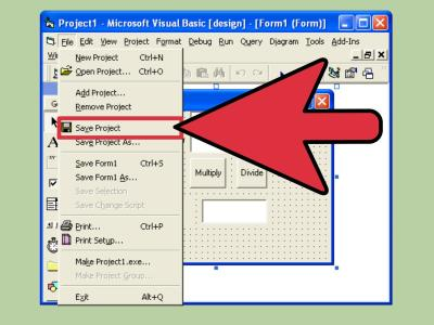 How to Create a Simple Calculator in Visual Basic 6.0: 15 Steps