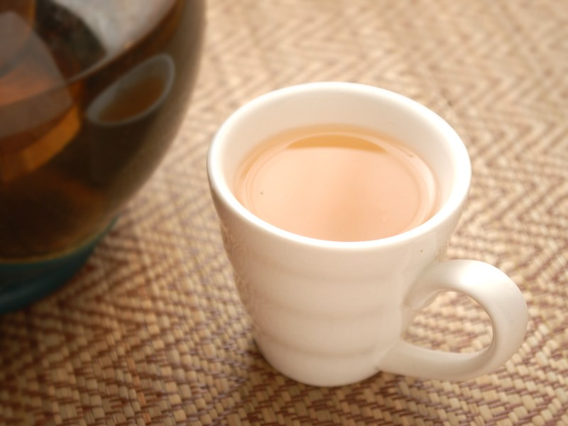 Large Of Plain White Tea Cup