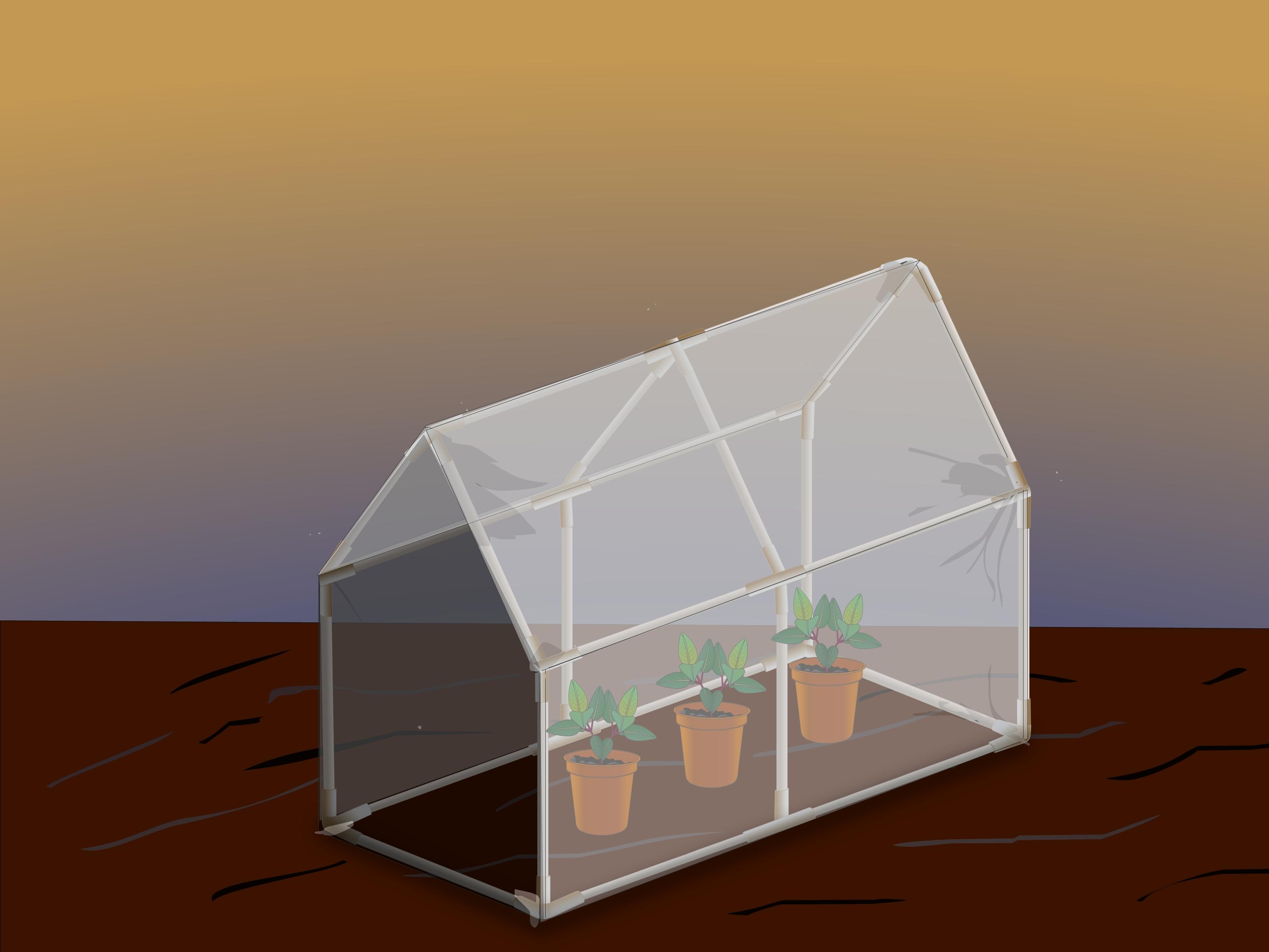 3 Ways To Make A Mini Greenhouse Wikihow