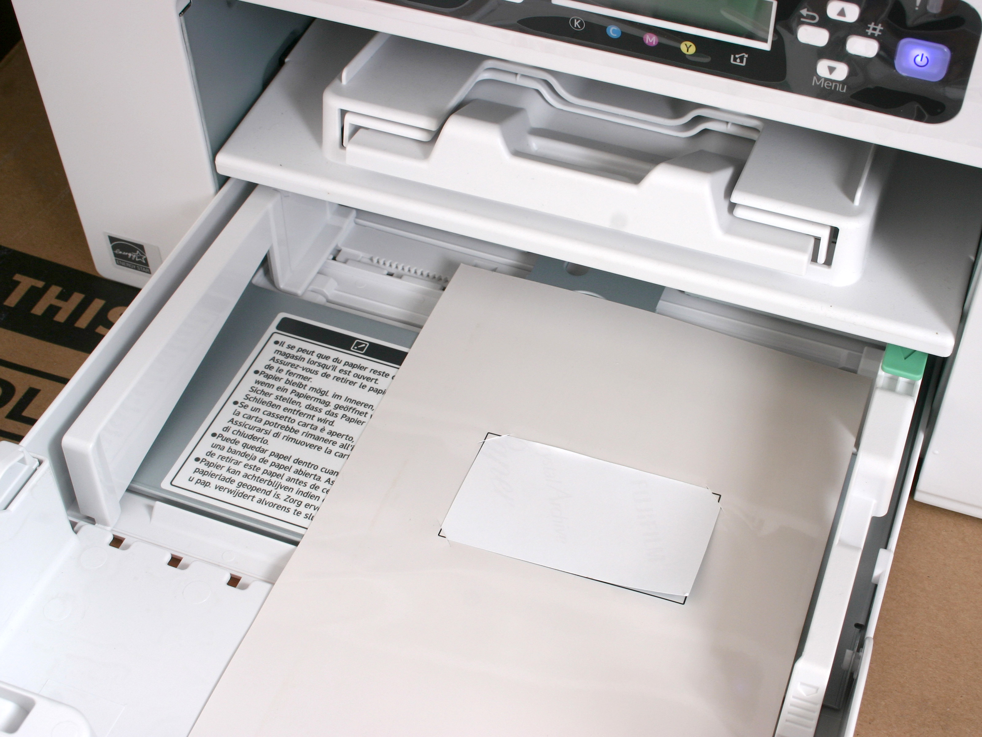 Fullsize Of My Printer Is Printing Blank Pages