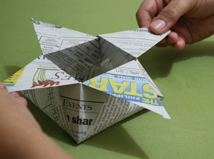 How to Fold a Box with Newspaper 13 Steps (with Pictures)