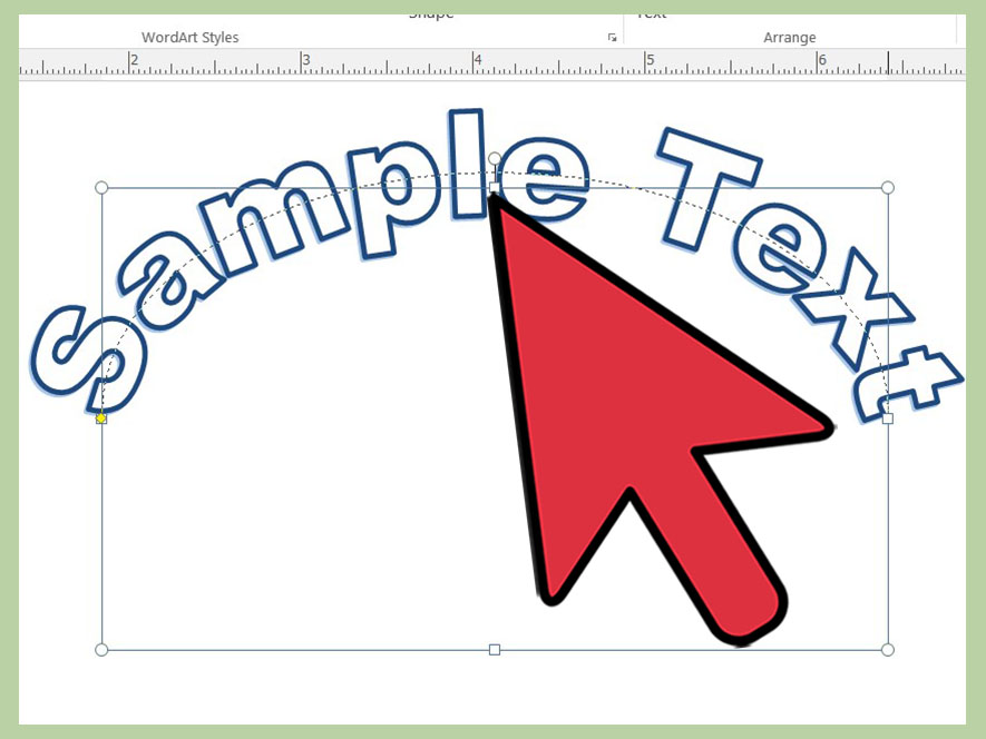 How to Curve Word Art in Microsoft Office Publisher 2013 13 Steps - how to make certificates in word