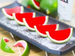 Popular Rum Moonshine How To Make Jello Shots Make Watermelon Jello Shots Step 13 Version 2 How To Make Jello Shots