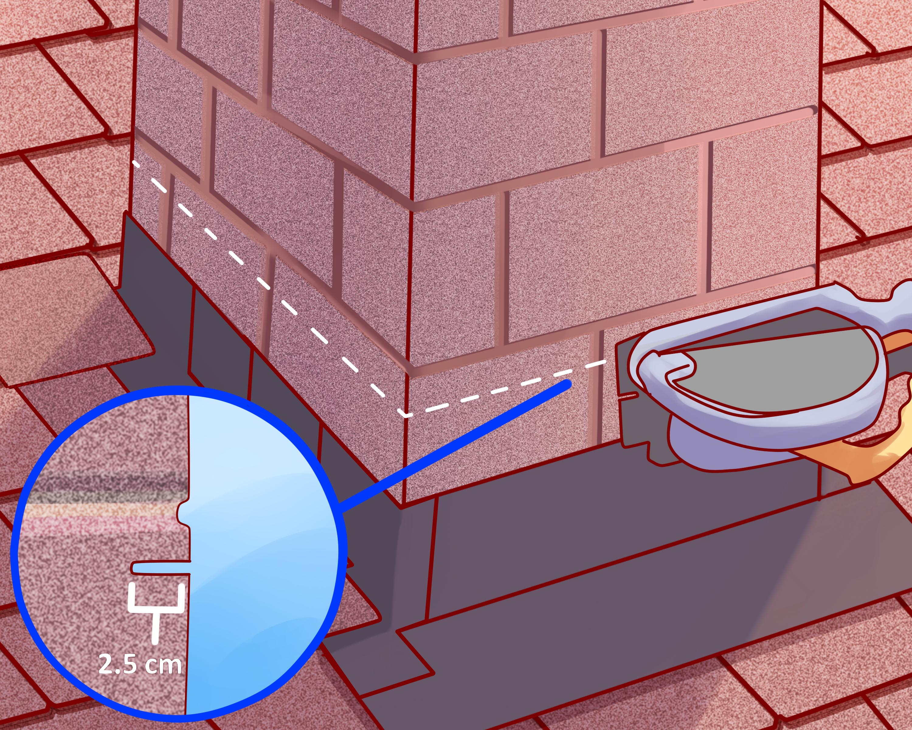 How To Flash A Chimney 6 Steps With Pictures Wikihow