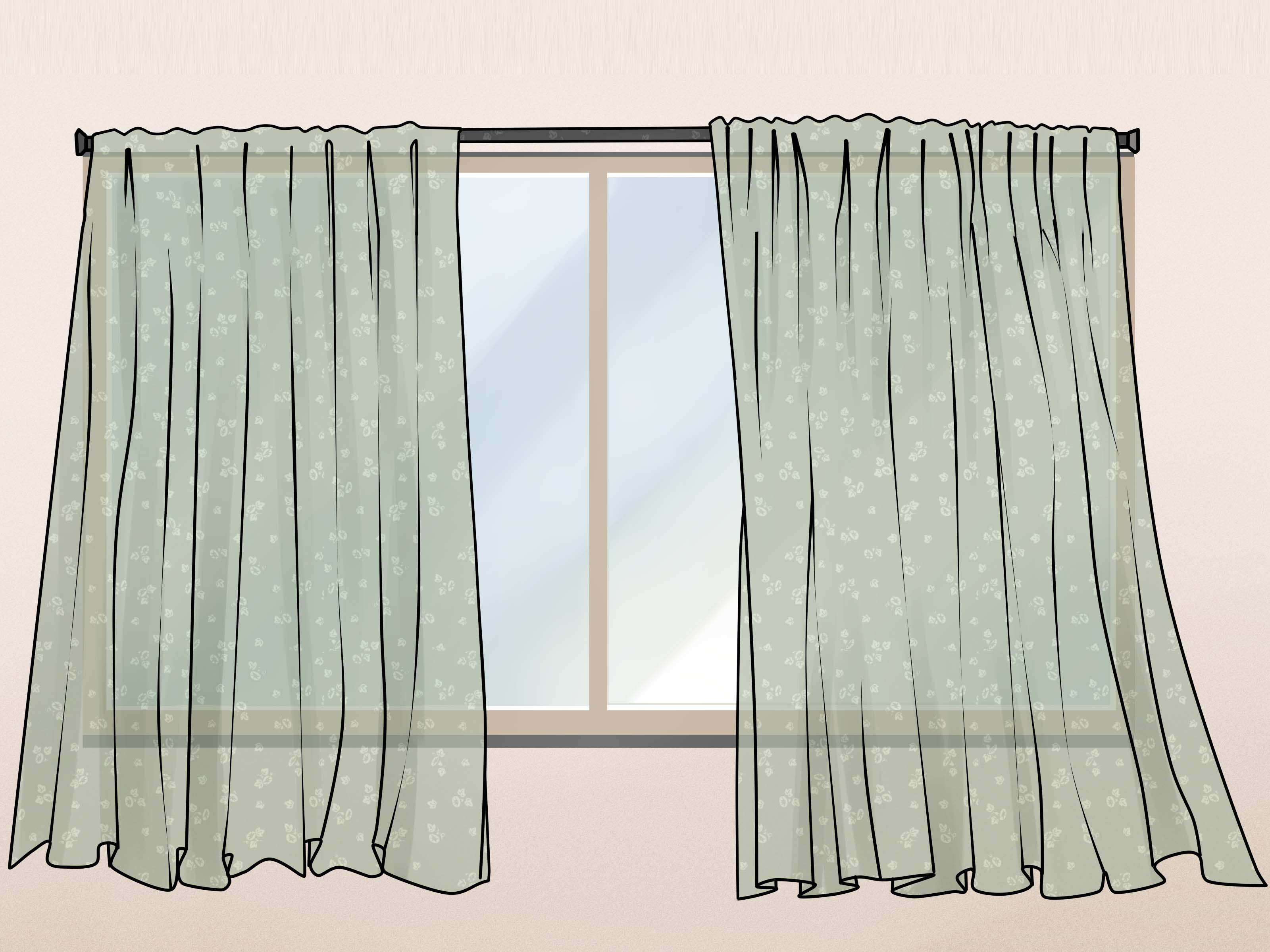 How to make tie top curtains - How To Make Tie Top Curtains