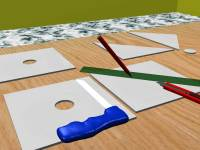 How to Cut Ceiling Tiles: 8 Steps (with Pictures) - wikiHow