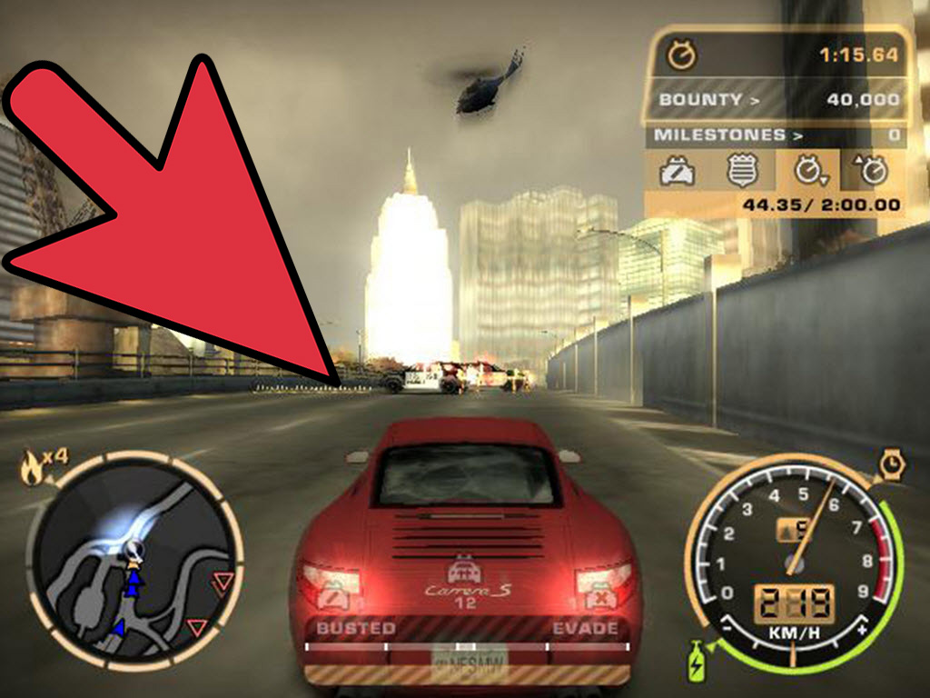 Coolest Car In The World Wallpaper How To Evade The Cops In Need For Speed Most Wanted 7 Steps