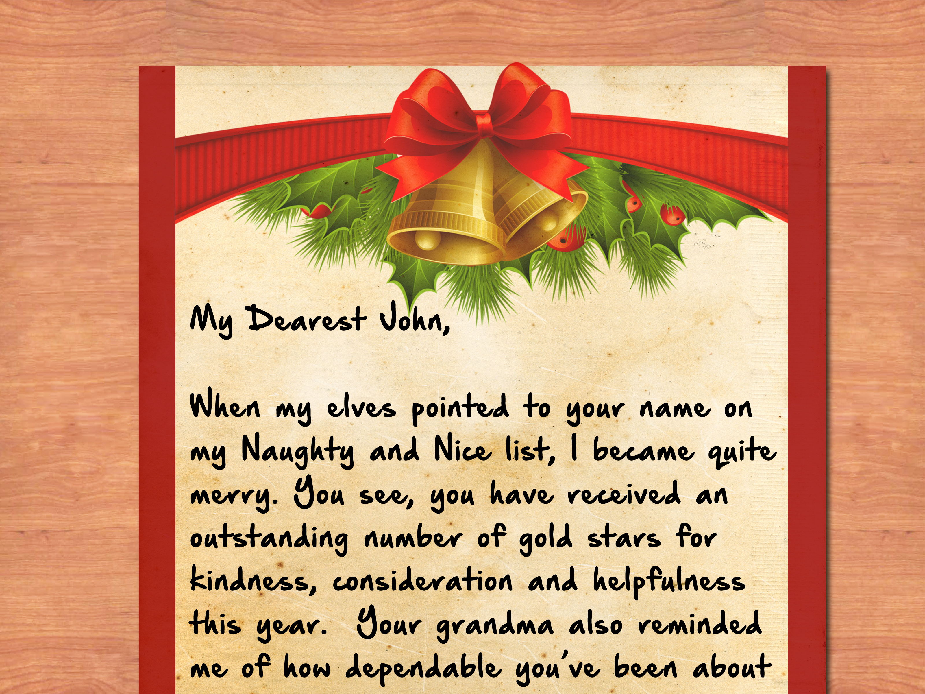 Cute Wallpapers For Adults 3 Ways To Write A Letter From Santa Wikihow