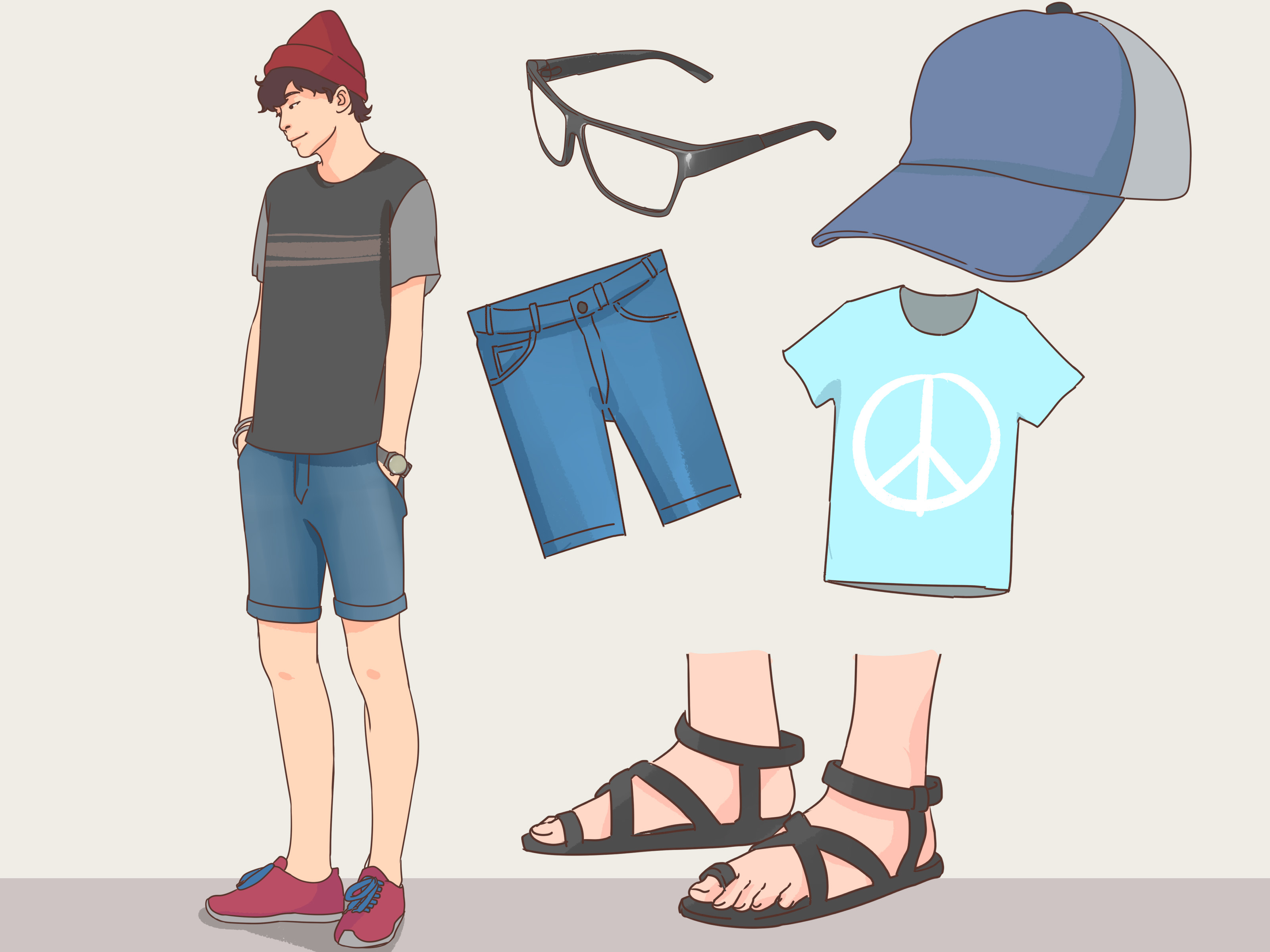 How To Dress Cool In High School For Guys 11 Steps