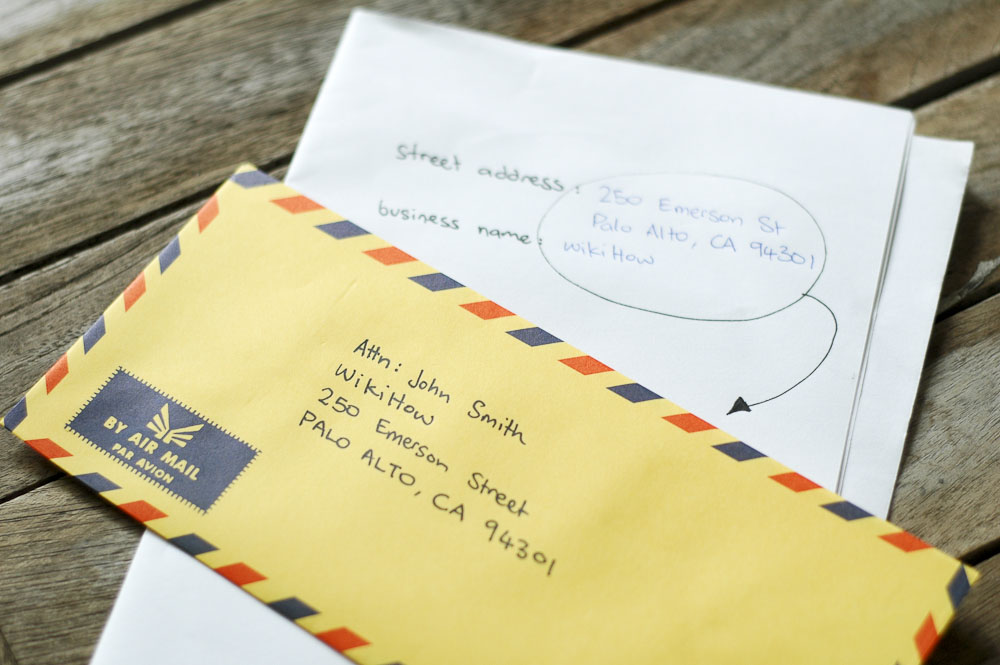 How to Address Envelopes With Attn (with Sample Envelope)