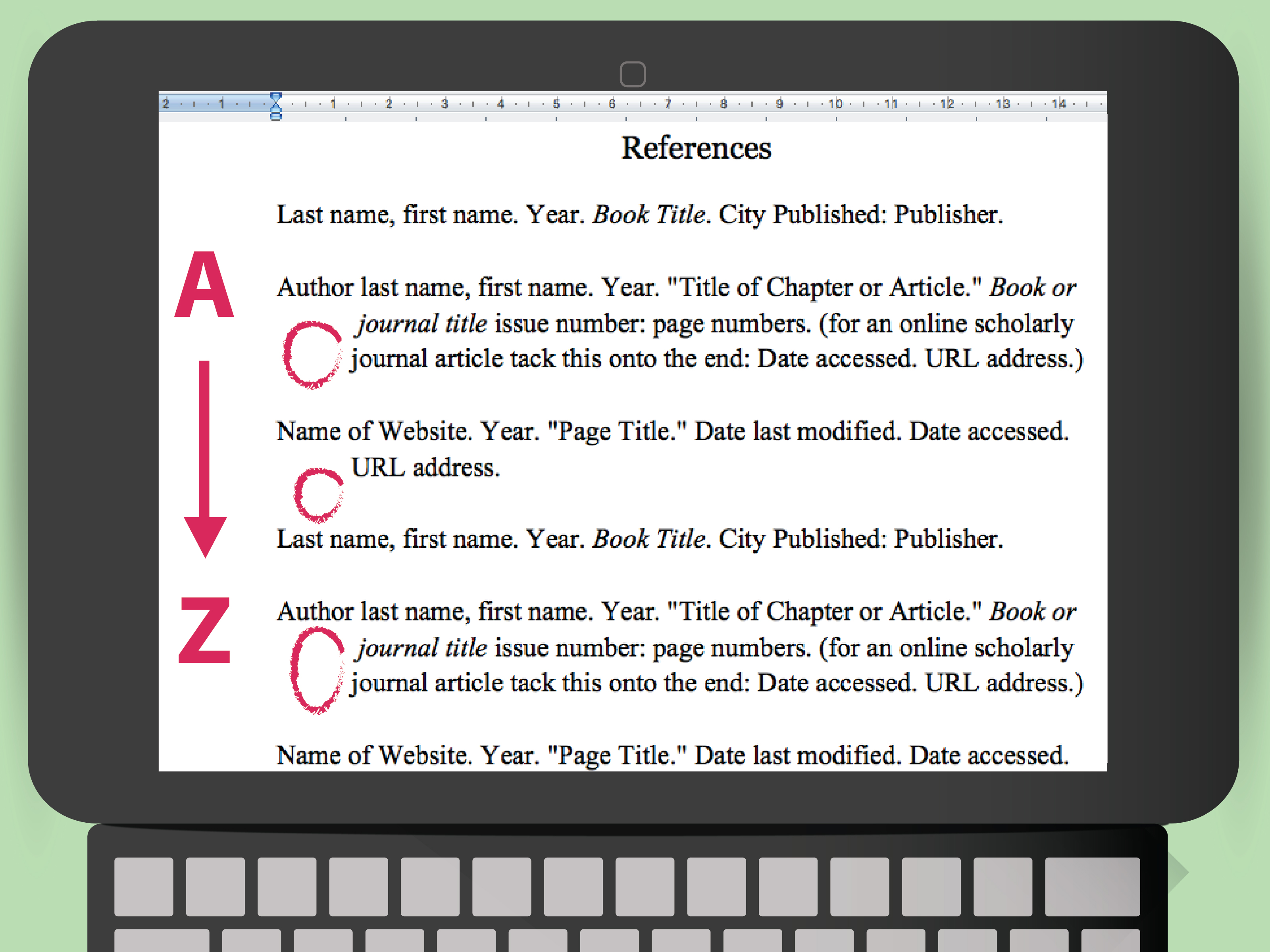 How To Cite A Poem Using Apa Style 11 Steps With Pictures