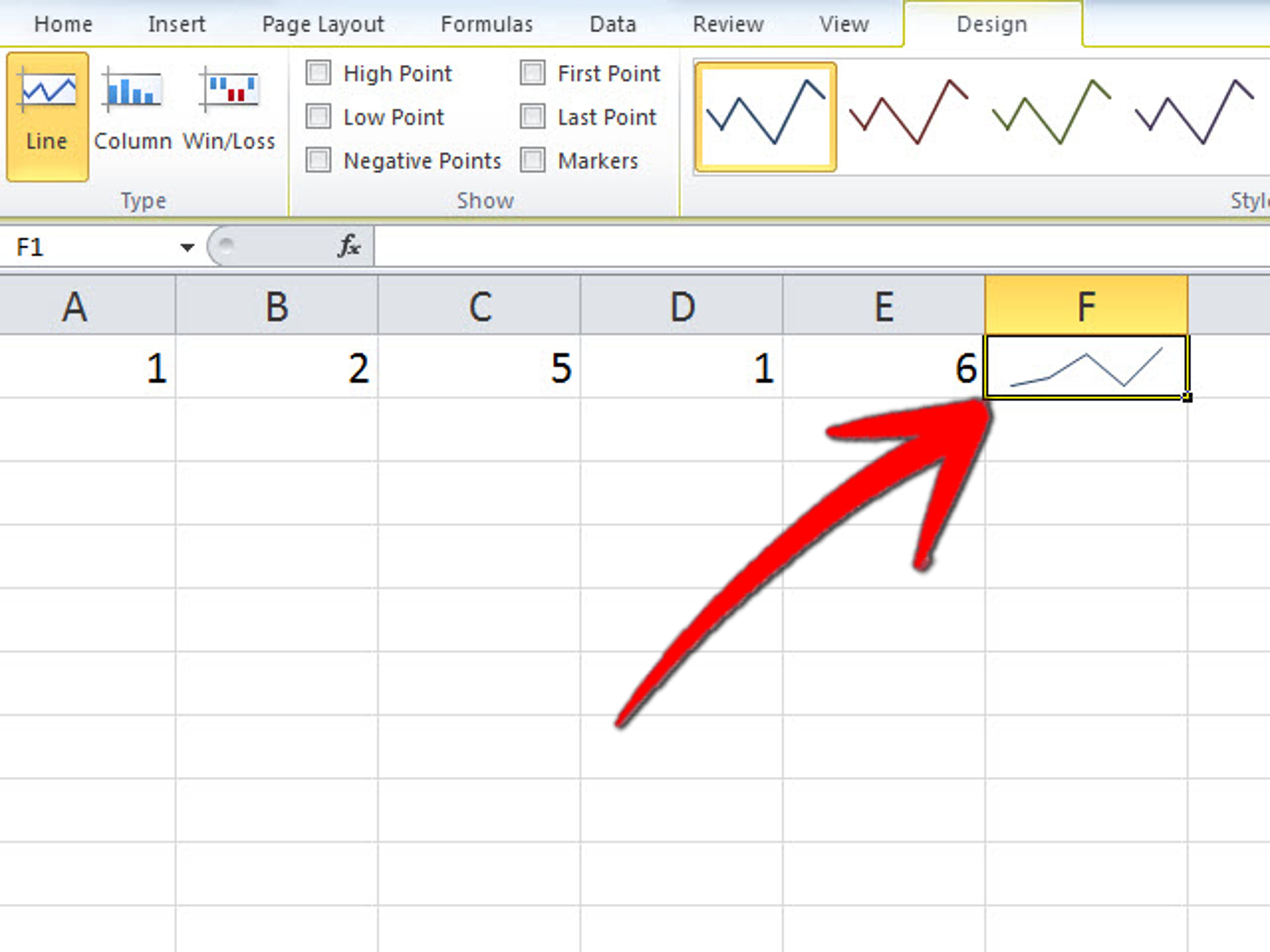 how to create graph in excel
