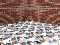 How to Make Tile Floors from Scrap Materials: 4 Steps