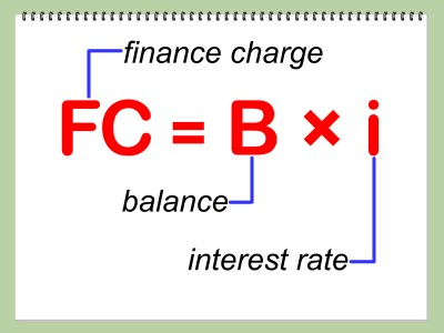 Credit Card Finance Charge Calculator