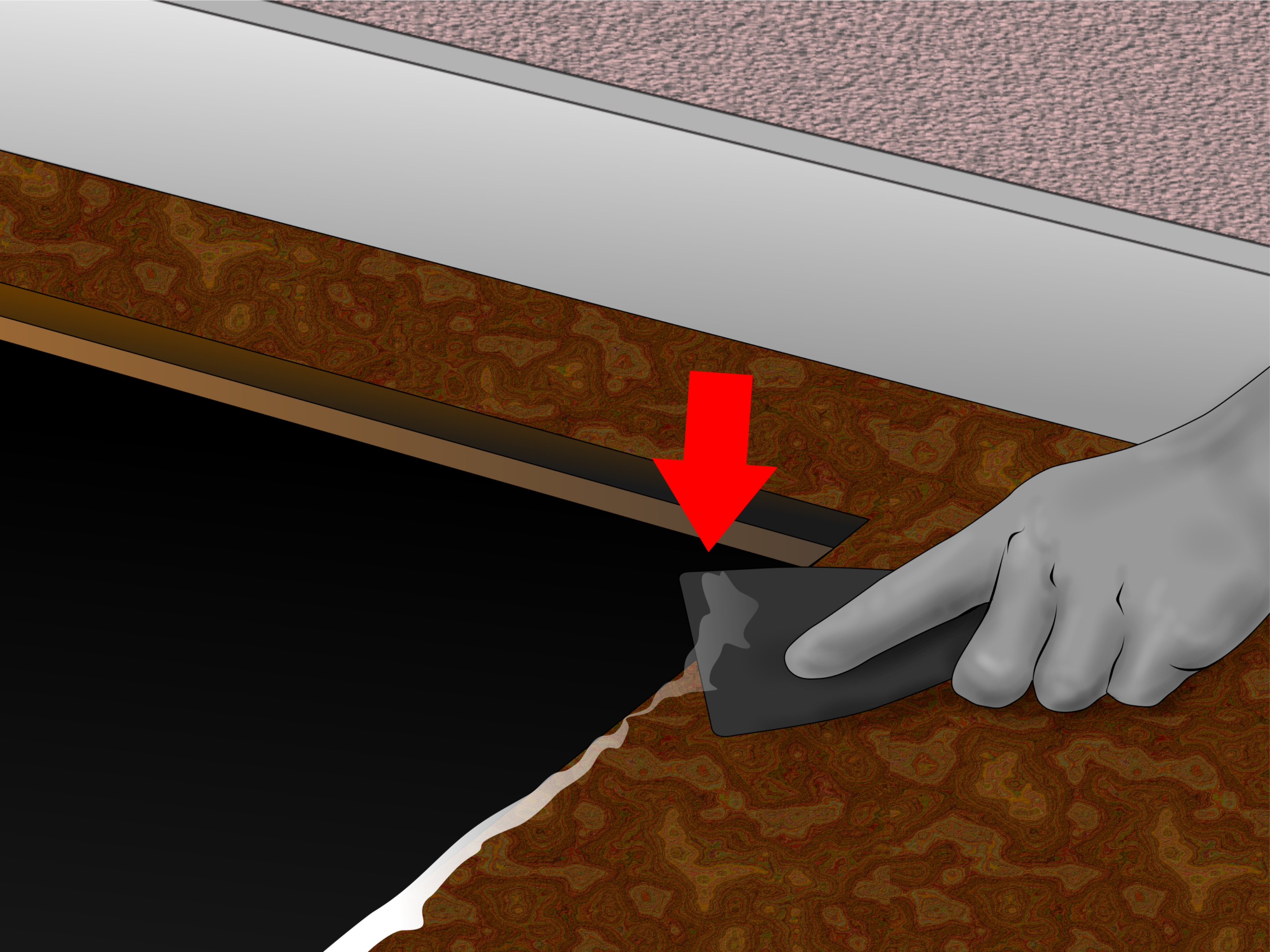 Caulk the Kitchen Sink replacing a kitchen sink Remove a Kitchen Sink