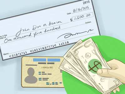 Expert Advice on How to Sign over a Check - wikiHow