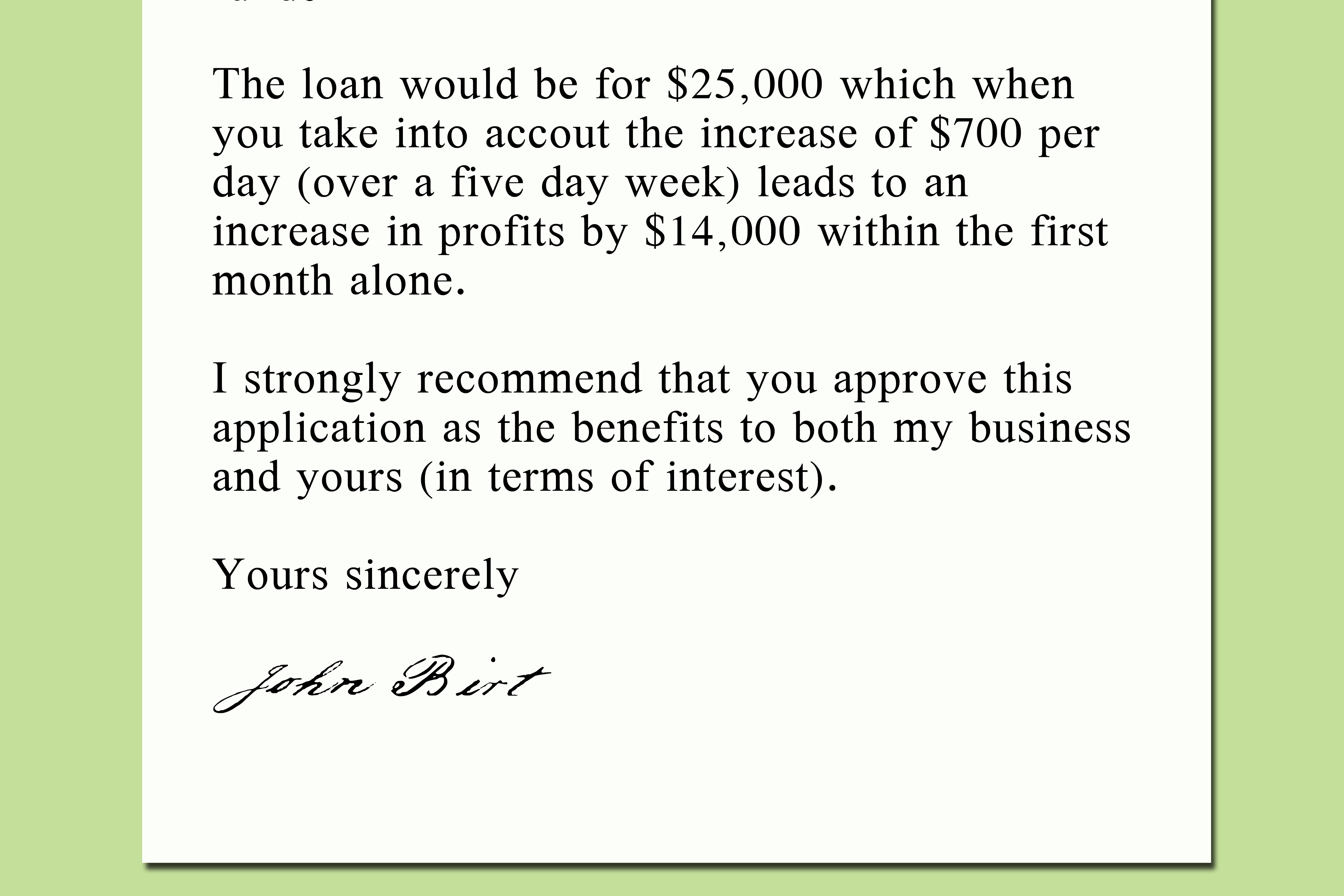 Sample Application Letter For Bank Guarantee Sample