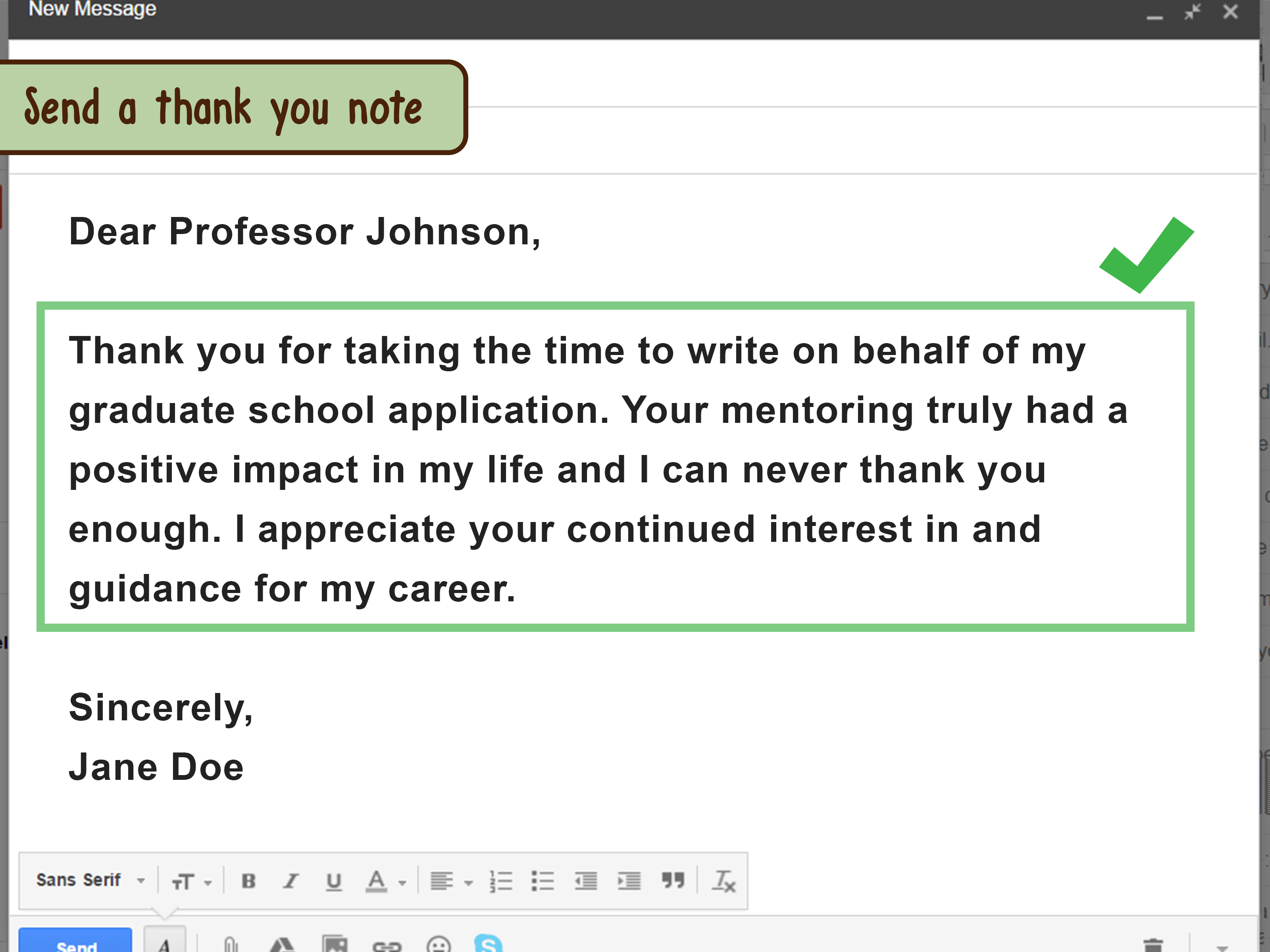 how to ask a previous professor for a letter of recommendation
