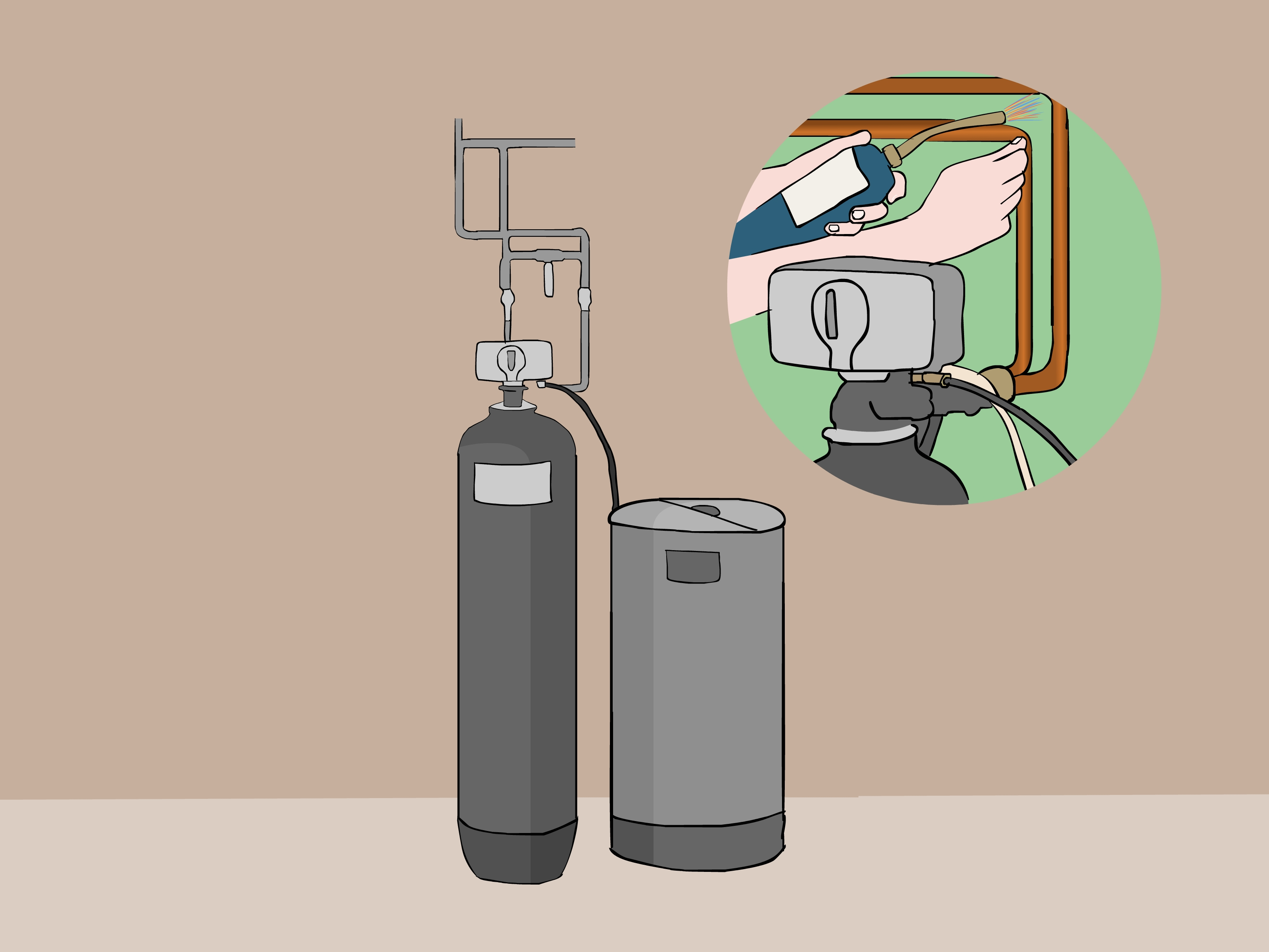 Dazzling How To Install A Water Softener Wikihow Water Softener Bypass Valve Gasket Water Softener Bypass Valve Menards houzz-02 Water Softener Bypass Valve
