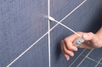 How to Clean and Re Grout Bathroom Tile: 8 Steps (with ...