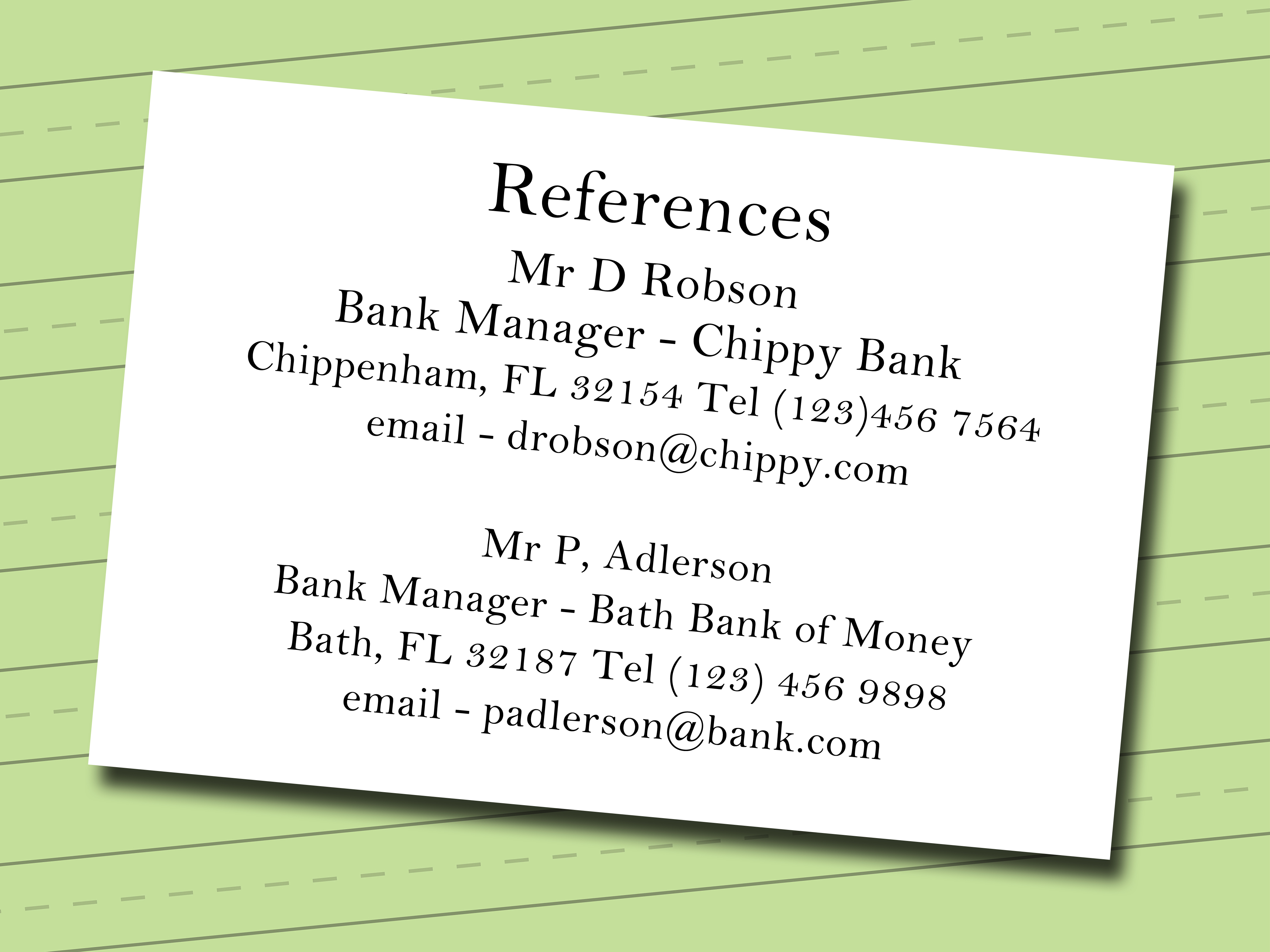 resume help maiden name