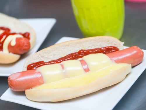 Medium Of Hot Dog No Bun