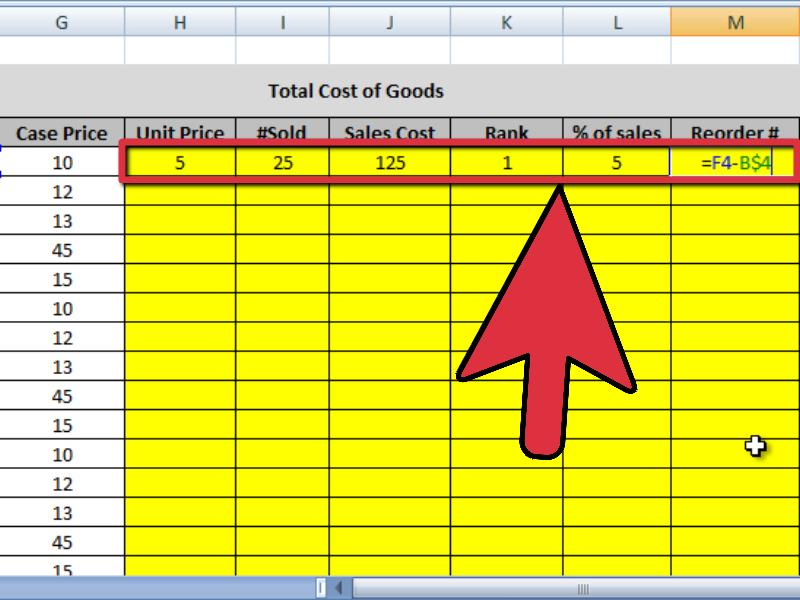 4 Ways to Create an Inventory List in Excel - wikiHow - inventory list example