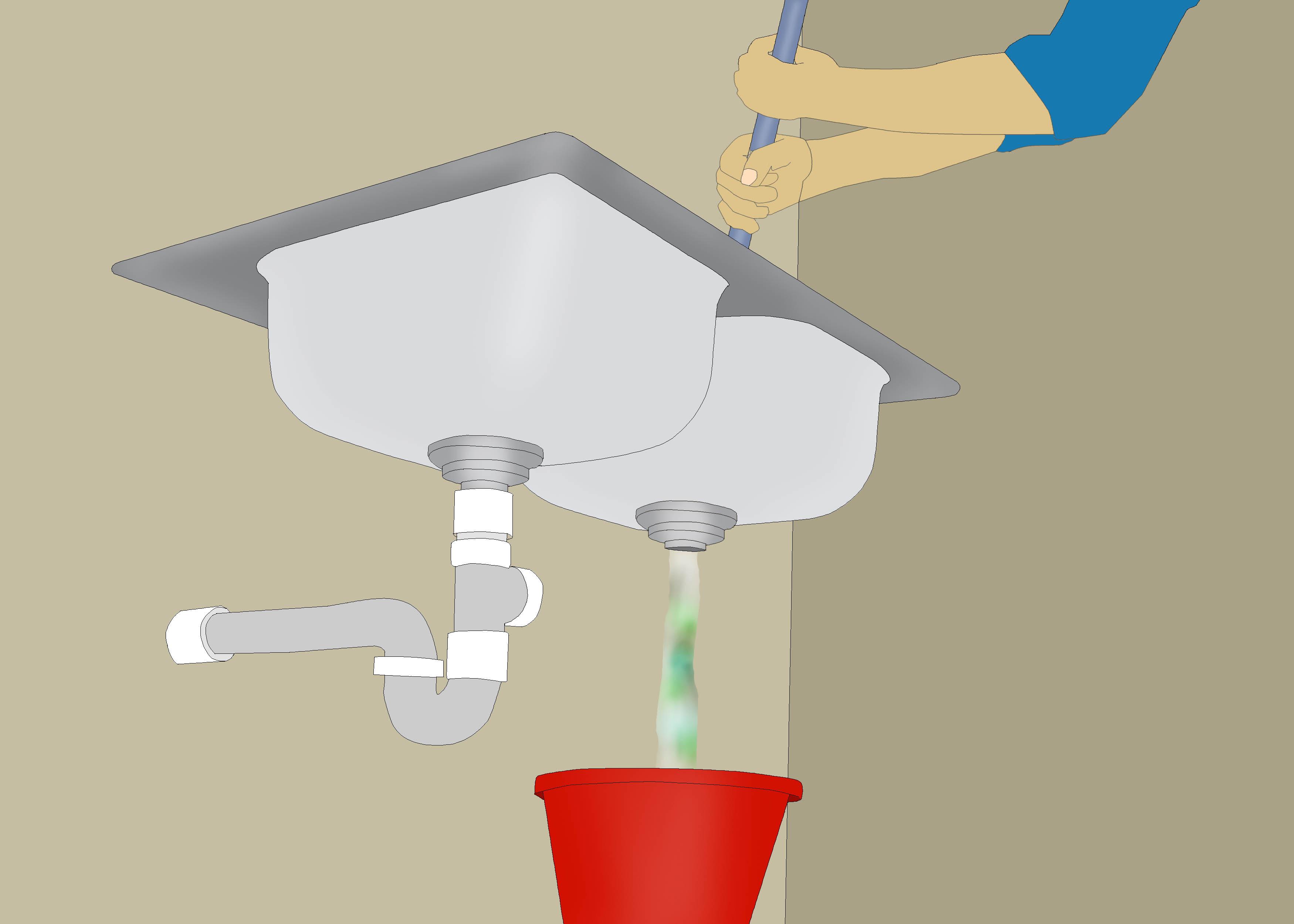 Restore Water Flow To a Clogged Kitchen Drain kitchen sink clogged