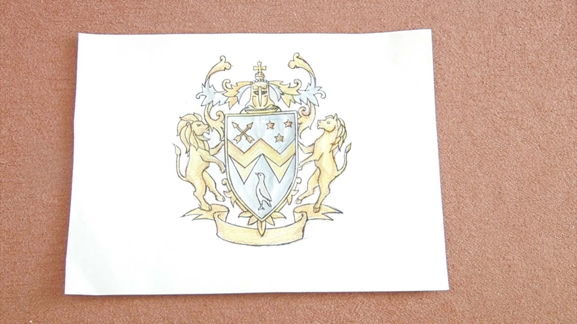 Old Fashioned Make Your Own Coat Of Arms Template Frieze ...
