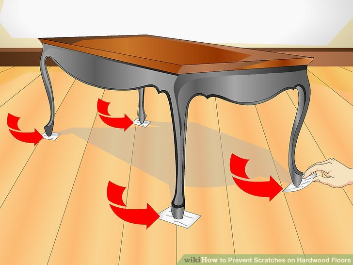 4 Ways To Prevent Scratches On Hardwood Floors Wikihow