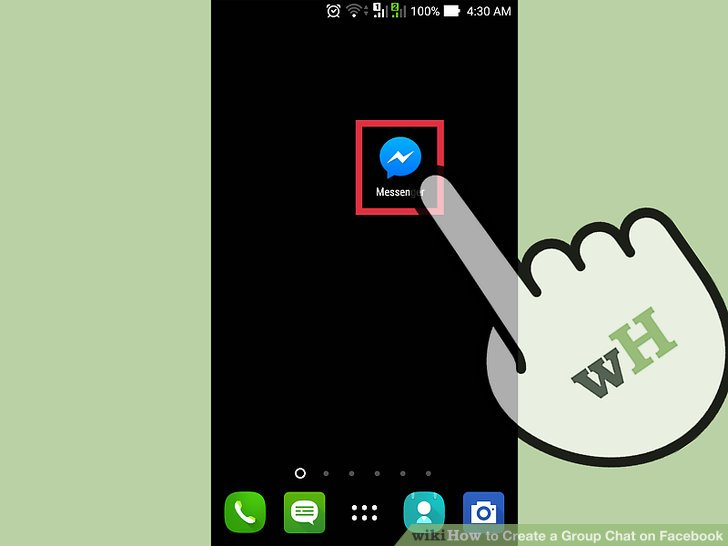 2 Easy Ways to Create a Group Chat on Facebook - wikiHow
