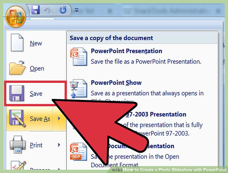 How to Create a Photo Slideshow with PowerPoint (with Sample Slideshows) - create power point