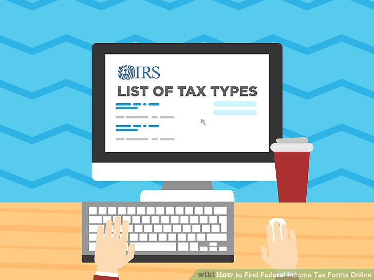 4 Ways to Find Federal Income Tax Forms Online - wikiHow
