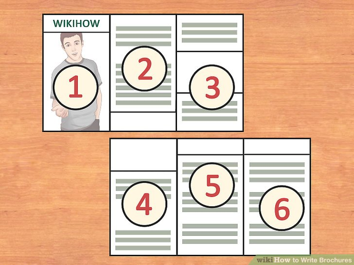 How to Write Brochures 12 Steps (with Pictures) - wikiHow
