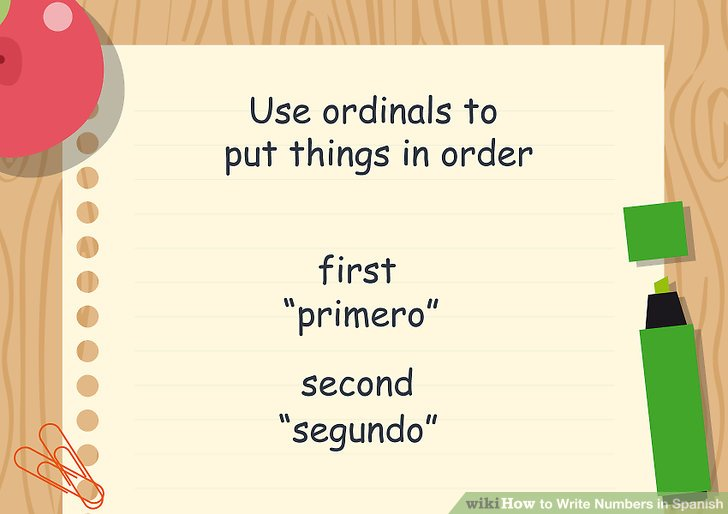 3 Ways to Write Numbers in Spanish - wikiHow - Numbers In Writing
